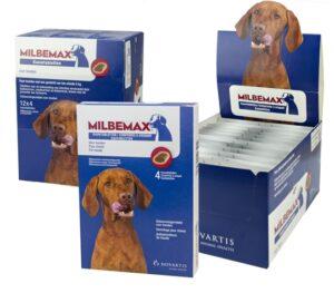 Milbemax Ontwormngskauwtabletten - Hond - 4 Tabletten